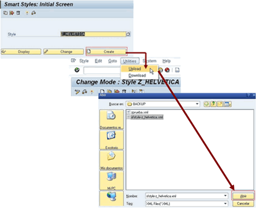 ABAP-SmartStyles-upload-completo