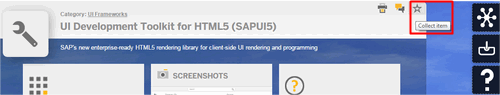 SAP UX Explorer UI for HTML5 SAPUI5 Coleccionar 5